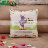 2015 ZAKKA printed hold pillow cow cartoon cotton and linen hold pillow household sofa cushion cover