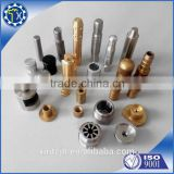 Manufacturer Customized made small brass bolt screws nut CNC machining part