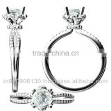 Jewelry CAD 3D Solitaire Ring Design