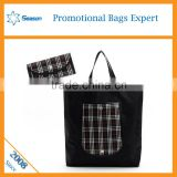 Korean China blank canvas wholesale tote bags /High quanlity 600d polyester canvas tote bag                                                                                                         Supplier's Choice