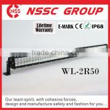 Guanzhou factory supply offroad accessories double row led light bar for off road vehicles