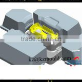 Harmless plastic kid toy mould,plasitc toy car body mould