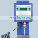 High flow and high pressure automatic digital tyre inflator