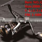 Q8R Series Middle End Four Style Size 2000-5000 1+1-7+1BB Rear Drag Fishing Reel baitcasting fishing reel