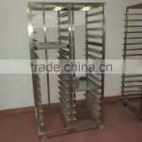 Industrial Bread Baking Rack Toast Bread Trolley for Rotary Oven