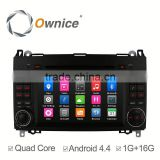 pure Android Car DVD Automotive gps navi For Benz B200 1G ROM 16GB storge Space Motorized Slide Panel suppor mirror link