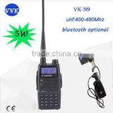 VKsantong dual band VK-N9 two way radio with bluetooth optional