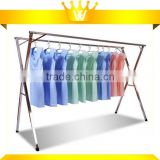 2015 Heavy duty stainless steel foldable hanging clothes airer adjustable clothes dryer rack