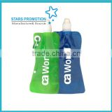 new products BPA free plastic Collapsible sports water bottle