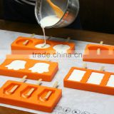 Silicone Ice Pop Mold Popsicles Mould Ice Cream Makers Push Up Ice Cream Jelly Lolly Pop For Popsicle