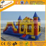 Funny inflatable bounce house jumpers air bouncy castle inflatable combo A3047