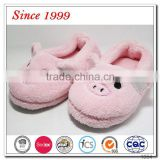 2016 hot selling stuffed kids baby pig head animal slippers