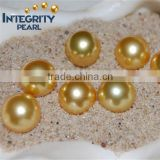 11-12mm dark golden south sea pearls