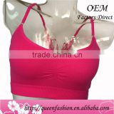 Latest design girls top Sexy fancy crop tops wholesale New style top for summer 2016 women clothes made in China