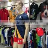 Fashion Style Child Size Custom Blank Rugby Shirt Wear Jersey Man