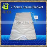 INFRARED SAUNA BLANKET 2 ZONE FIR FAR SLIMMING heating SPA Therapy WEIGHT LOSS PORTABLE DETOX
