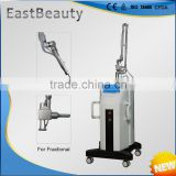 Remove Neoplasms Fractional Laser Eye Wrinkle 0.1mj-300mj / Bag Removal Co2 Surgery Machine RF