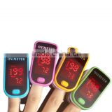 LED Display Design oxymetre pulsioxmetro Fingertip Pulse Oximeter Spo2 PR monitor Blood Oxygen meter Monitor