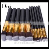 Private Label Makeup Brushes Set 10Pieces Foundation Concealer Eyeshadow Eyelash Brushes