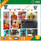 Broiler Chicken Farming Equipment Automatic Feeder/Drinker/Fan/Cooling Pad/Heater/Controller System for Poultry Birds