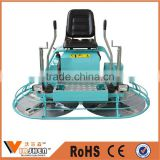 Gasoline finishing float machine concrete ride on power trowel for sale