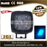 15w forklift blue point led work light car accessories CREE led heavy-duty work light lamp