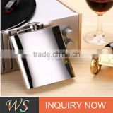 WSJJYY021 stainless steel hip flask/ liquor flask /drink pot