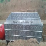 Huili BDF underground water tank with stainless steel inside and hot dip galvanizing outside