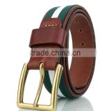 J51931 Trend Casual Belt Fashion Man's Dress Belt Casual Style Belt Genuine Leather Belt