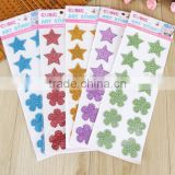 Wholesale Custom Glitter Crystal Sticker Diy Self Adhesive Back Glue Acrylic Rhinestone Sticker