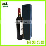 cheap black wine bag waterproof plastic gift bag