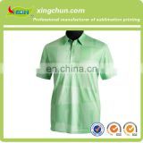 wholesale customize popular design golf men's dye sublimation printed polo t shirt with short sleeve