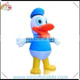 Hot selling inflatable donald duck, inflatable duck model, advertising cartoon character for sale