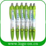 Top selling promotional plastic pull out banner pen