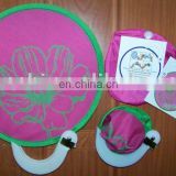 Round Nylon Pocket Fan