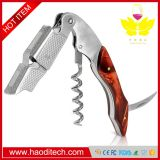 Brown Color Professional Stainless Steel with Moonstone Resin Inlay All-in-one Corkscrew, Bottle Opener and Foil Cutter