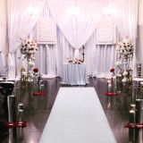 Adjustable Pipe and Drapes Wedding Tent Party Exhibition Photo Booth Event Curtain Backdrop