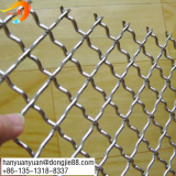 SUS 304 316 310 Stainless steel crimped woven wire mesh