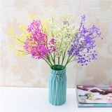 Factory Wholesale Bridal Bouquet Beautiful Artificial Single Stem Gypsophila Flower For Wedding Decoration