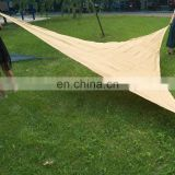 Supply Aquatic blue Plastic Sun Sail Shade Triangle /Rectangle /Square Tent mesh manufacture