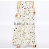 Casual Loose Cheap Custom Printed Wide Leg Pant Wholesale China                                                                         Quality Choice