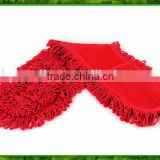 HB735 OE recycled blended extra thick 65/35 polyester cotton red yarn color for mops 2-ply from China