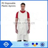 diposable white chef apron