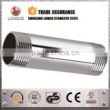 Stainless steel nipple pipe fitting
