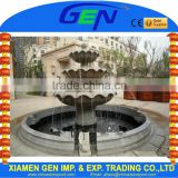 Gardening Stone Floating Sphere Water Fountain