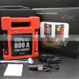 CE FCC ROHS approved 24000mah 500AMP 12V 24V sedan and vehicle use car jump starter power bank OEM