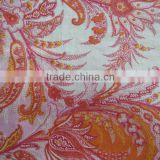 Silk/cotton knitted fabric