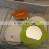 Fashionable Lady's lovely plastic pocket mirrors manufacturer