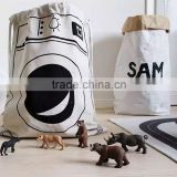 Various Designs Cartoon Children Cotton Laundry Hamper Foldable Laundry Basket Storage Bin Folding basket