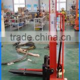 Max 1.6m lifting height hand forklift attachment for sale